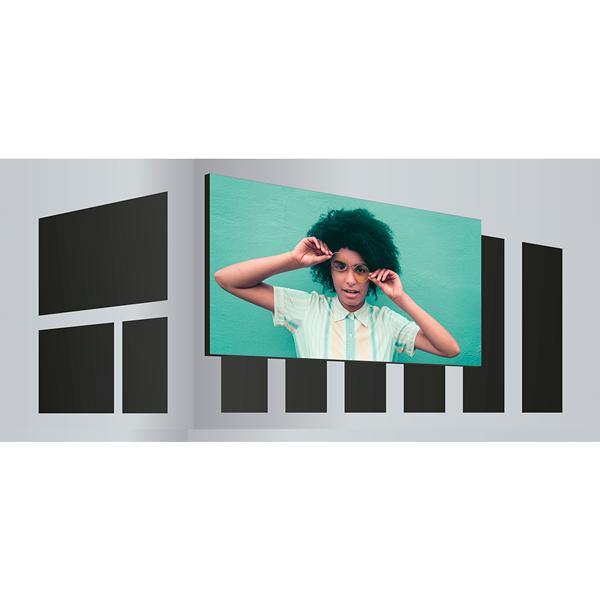 Ecran géant LED sur façade